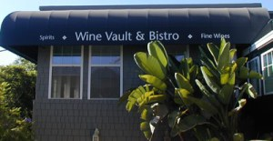 Head Up The Steps To Wine Vault!