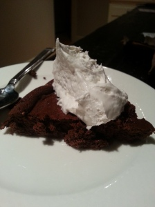 Baked Chocolate Mousse from Cooking Light