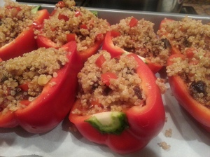 Quinoa Stuffed Peppers 1