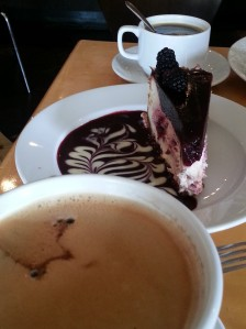 Not on the Clean Cleanse - Cheesecake and Coffee at Extraordinary Desserts
