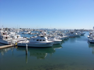 If I could cleanse like this everyday, I'd be one very lucky lady! Great views from Point Loma Seafood.