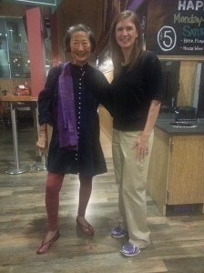 I was so honored to meet Chef Su-Mei Yu.  Have you watched her show Savor San Diego?  Have you been to Saffron?  Both are a must!