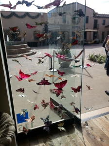 Seaside's window display was so pretty!