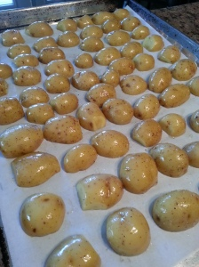 Roasting Baby Dutch Yellow Potatoes