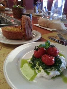 You will NEVER want Caprese anywhere else after this experience. Period. Burrata. Period. Enough said.