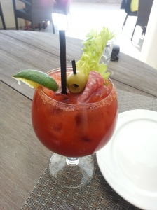 Franz is picky with his Bloody Mary, and he loved this one!