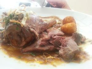 Super meaty Osso Bucco!