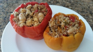 Slow-Cooker Greek Stuffed Peppers
