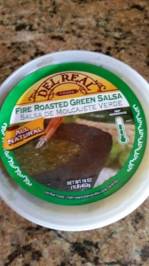 The Fire Roasted Green Salsa was delicious in this recipe or even on its own!
